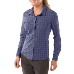 Top: REI Larch long-sleeve hiking shirt