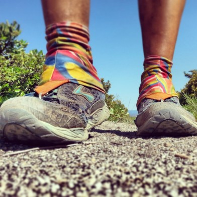 PCT Shoes and gaiters