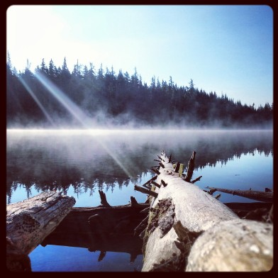 PCT Three Sisters Lake