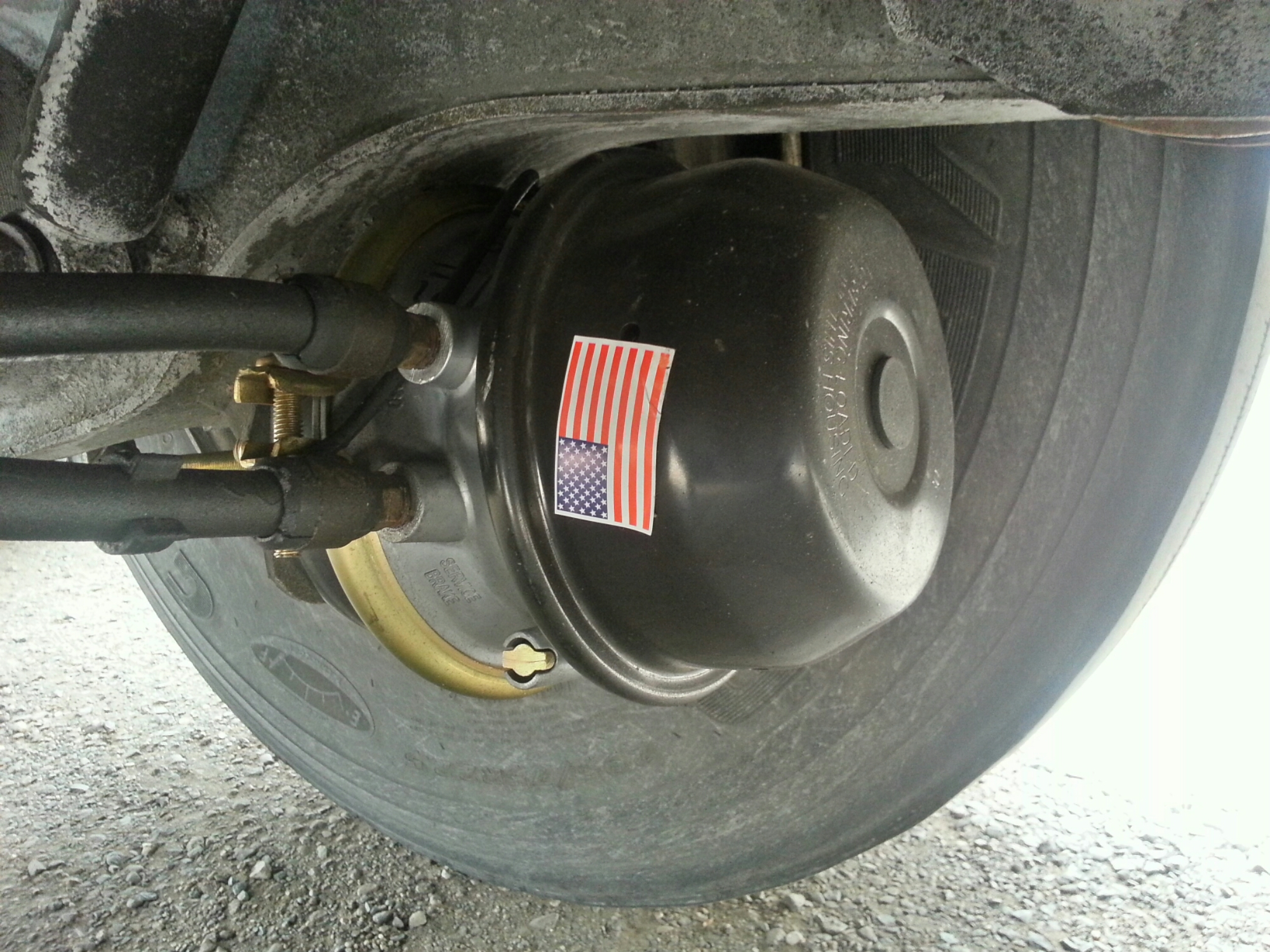 Brake Chamber Replacement : Brake chamber so many miles